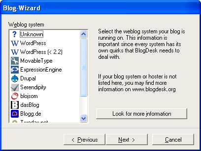 BlogDesk 4 Blog from Desktop : Desktop Blogging Software