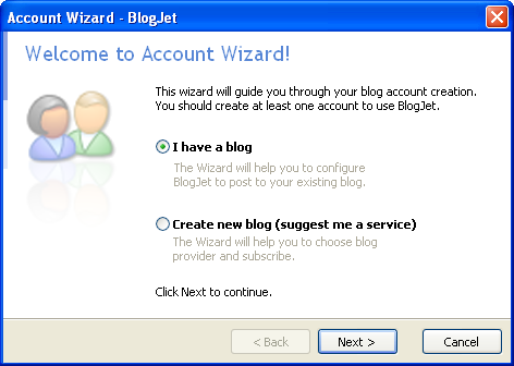 BlogJet 1 Blog from Desktop : Desktop Blogging Software
