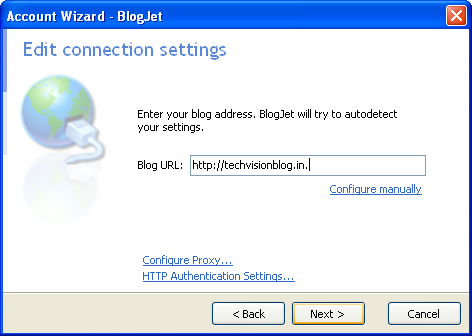 BlogJet 2 Blog from Desktop : Desktop Blogging Software