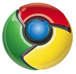 chrome logo 300x291 Monitor wordpress blog from Google Chrome