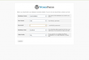 wordpress view 300x202 How to configure wordpress on local or remote server