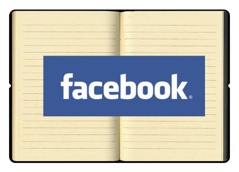 Facebook on a Book