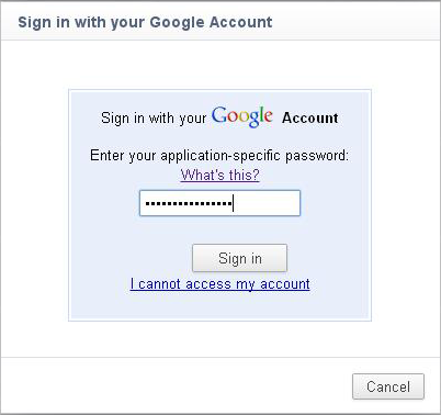 googlesync3 Share bookmarks and saved passwords in Google Chrome