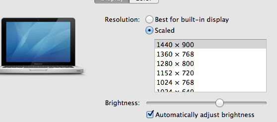 Screen Shot 2013 06 04 at 5.18.58 PM Increase the resolution of MacBook Pro 13